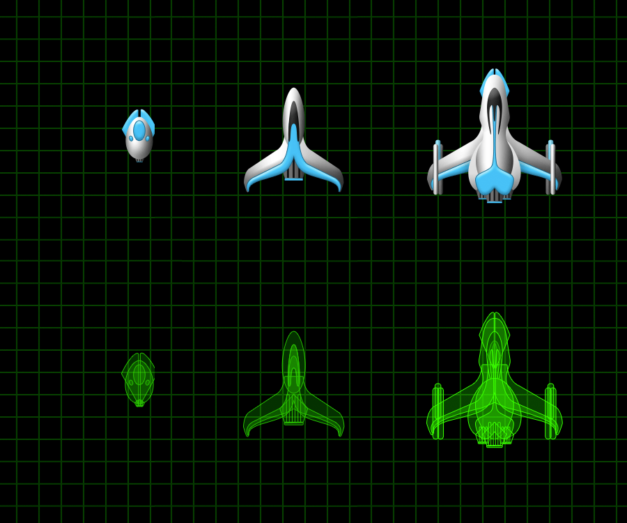 Spaceships for a Game