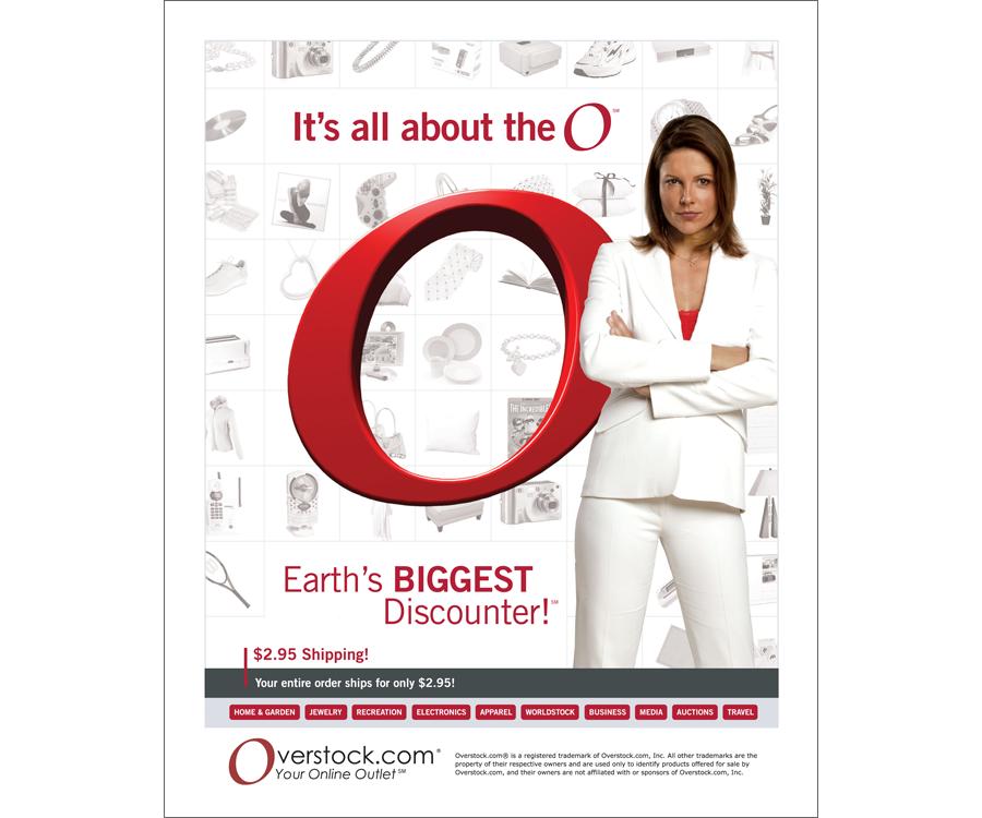 Overstock.com Magazine Ad