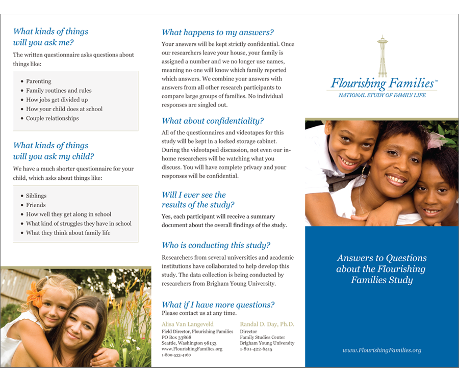 Flourishing Families Brochure