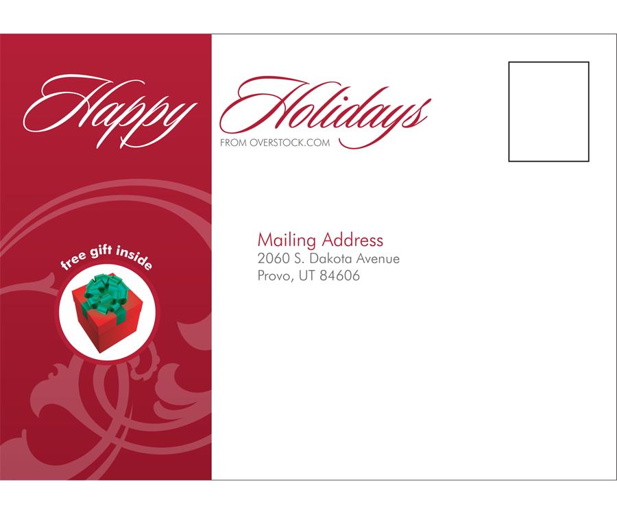 Happy Holidays Mailer
