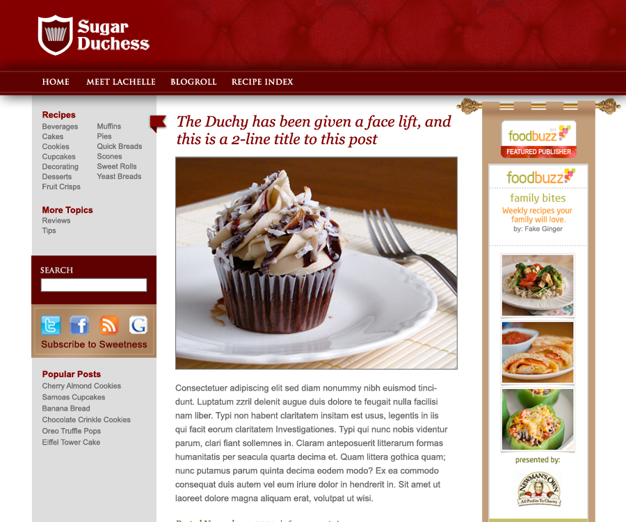 Sugar Duchess Blog